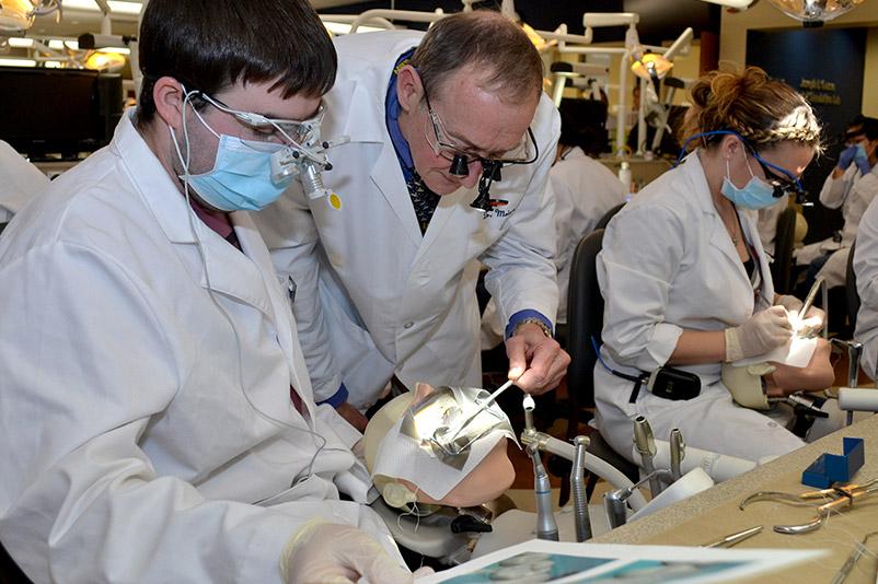 Classroom and lab UConn School of Dental Medicine