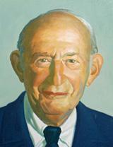 Painted portrait of Lewis Fox, D.D.S.