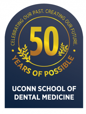 50 Years of Possible UConn school of Medicine Seal